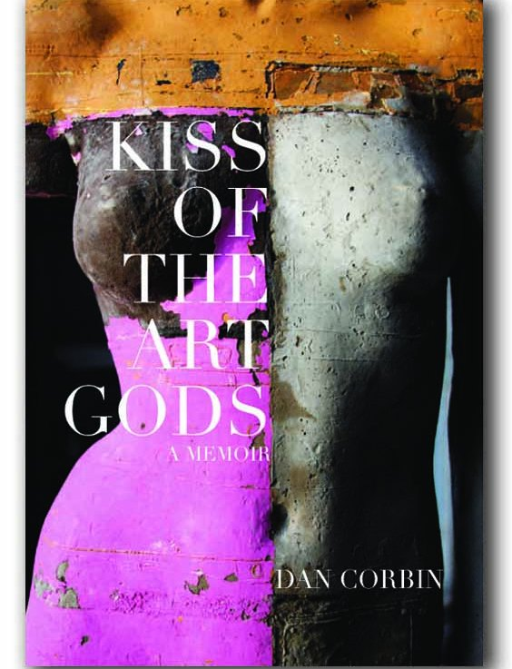 Photo of artist Dan Corbin's sculpture used as a book cover